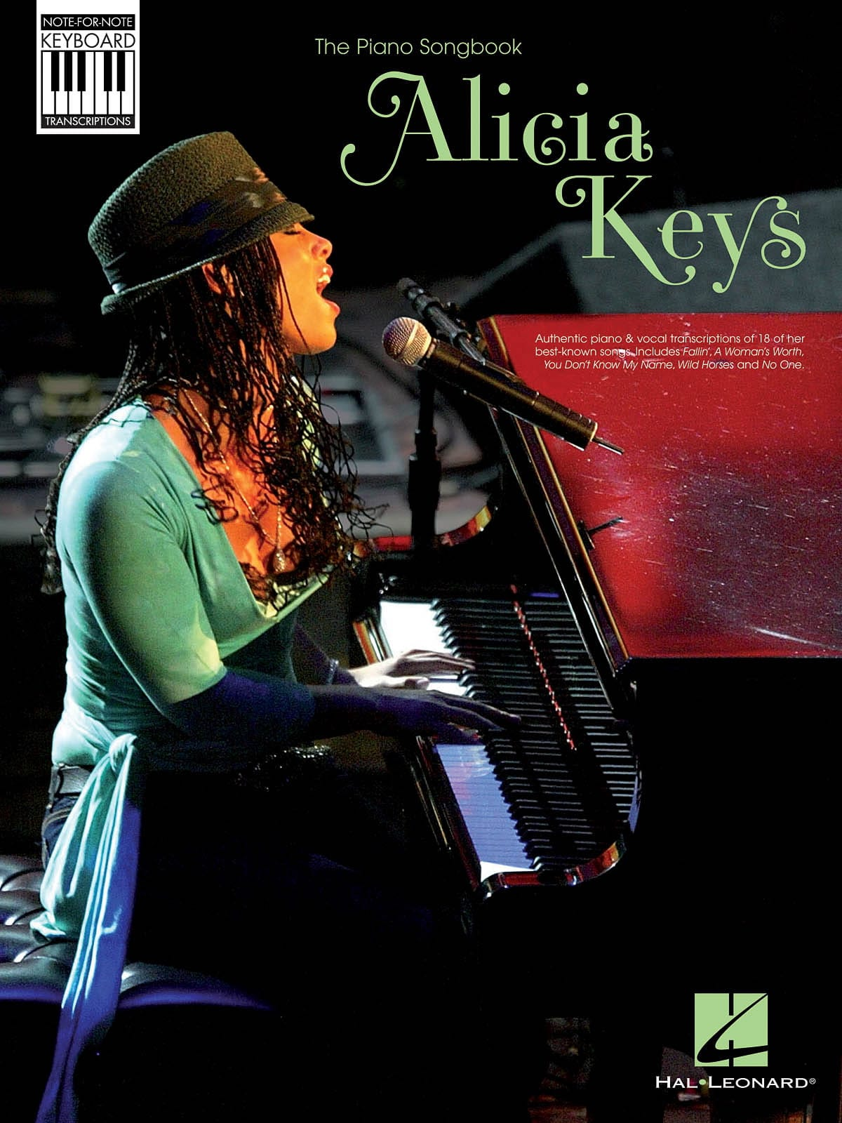 Alicia Keys - Note For Note Keyboard Transcriptions - Partition - di-arezzo.co.uk