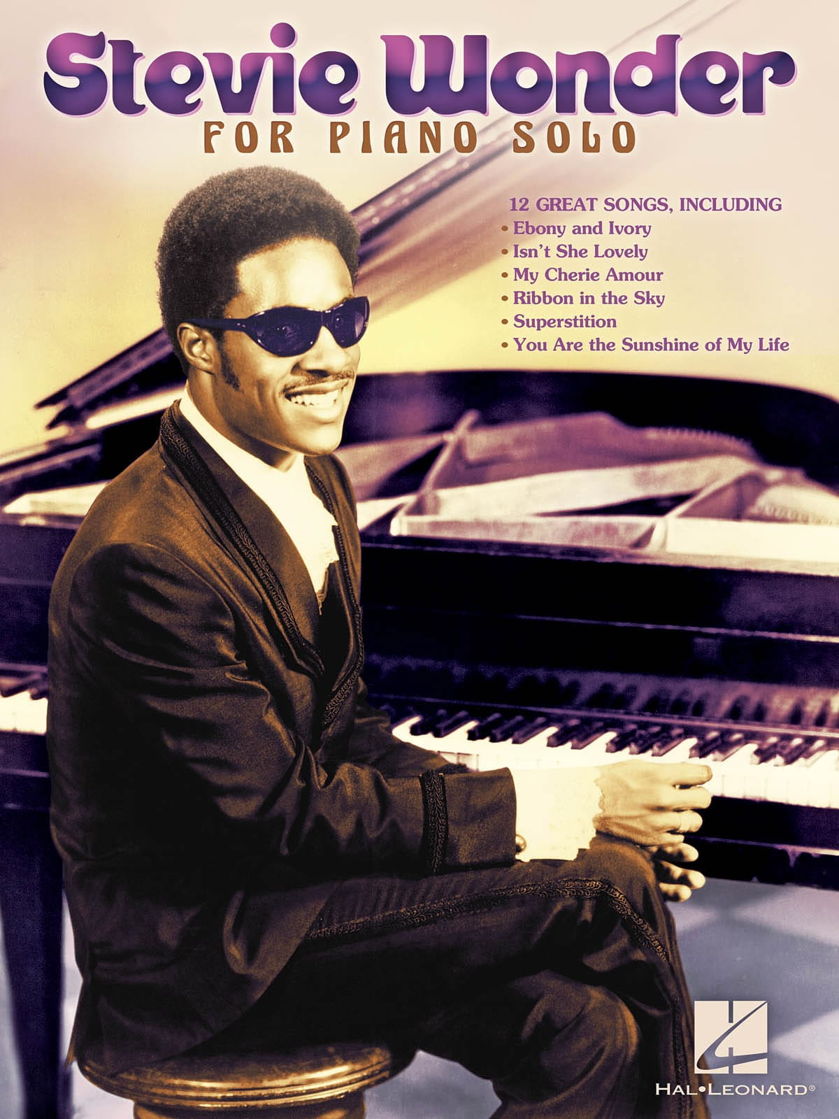 Stevie Wonder - Stevie Wonder for solo piano - Partition - di-arezzo.com