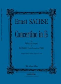 Concertino en Mib - Ernst Sachse - Partition - laflutedepan.com