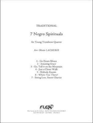 7 Negro Spirituals - Traditionnel - Partition - laflutedepan.com