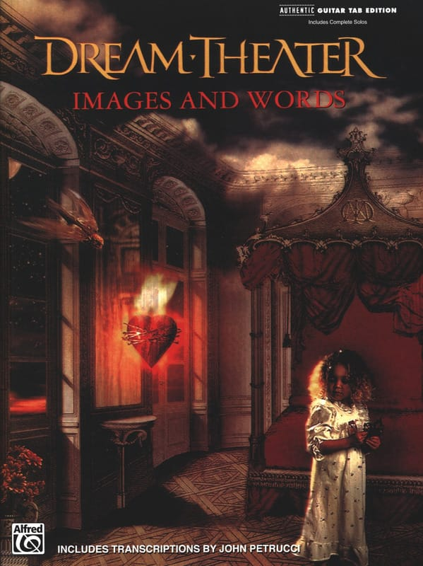 Dream Theater - Images and words - Partition - di-arezzo.co.uk