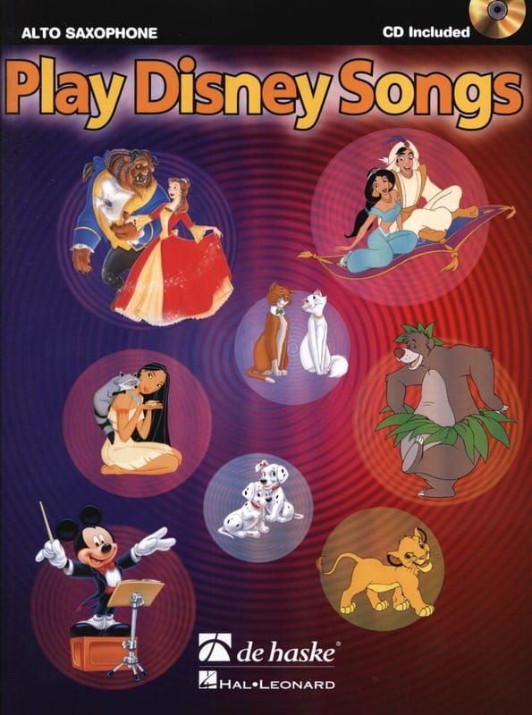 Play Disney songs - DISNEY - Partition - Saxophone - laflutedepan.com