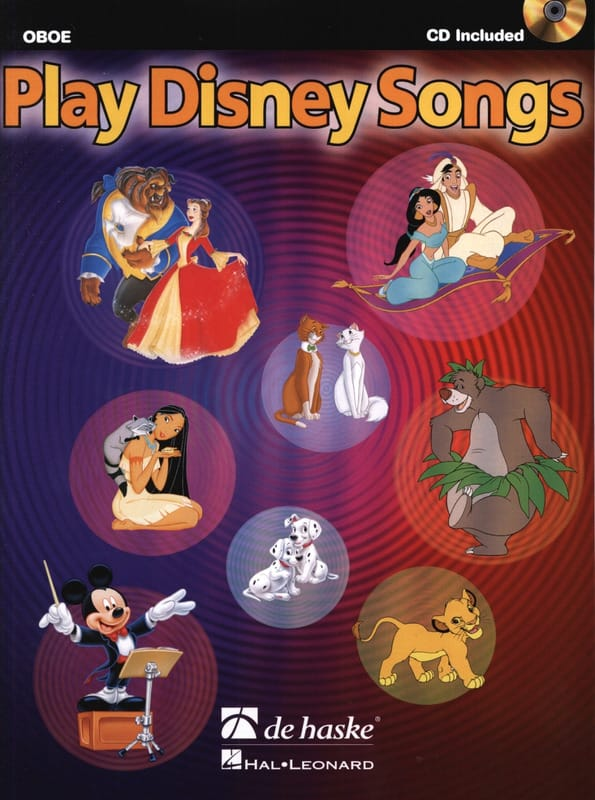 Play Disney songs - DISNEY - Partition - Hautbois - laflutedepan.com