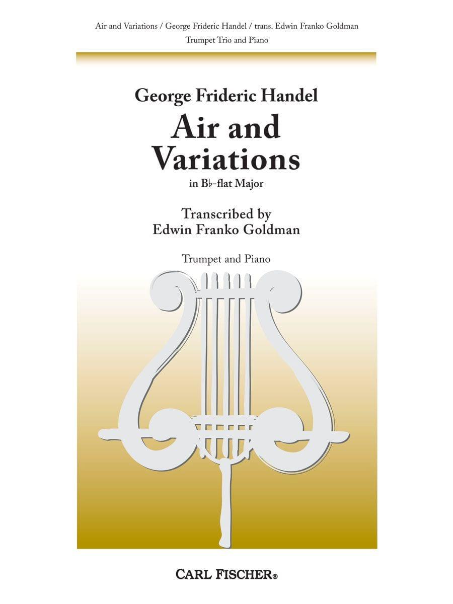 Air and variations in B Flat - Trio de Trompettes - laflutedepan.com