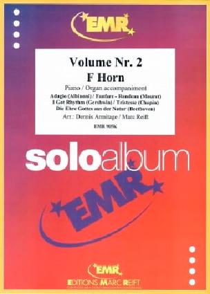 Solo album volume 2 - Partition - Cor - laflutedepan.com