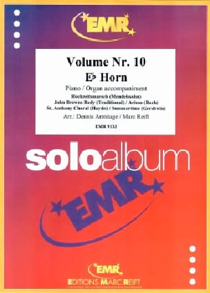 Solo album volume 10 - Partition - Cor - laflutedepan.com