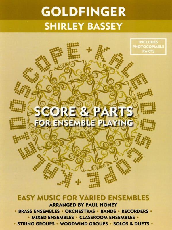 Goldfinger Shirley Bassey - Kaleidoscope - laflutedepan.com