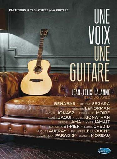 Une voix une guitare - Jean-Felix Lalanne - laflutedepan.com