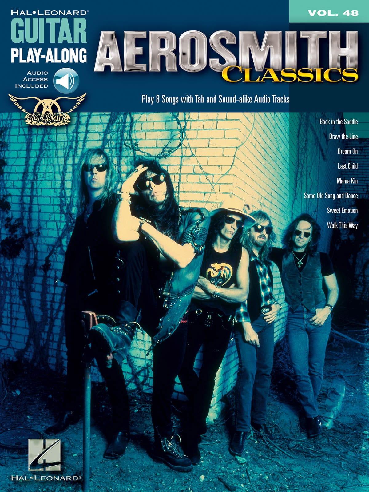 Guitar play-along volume 48 - Aerosmith Classics - laflutedepan.com