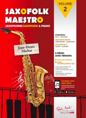 Saxofolk maestro volume 2 - Partition - laflutedepan.com