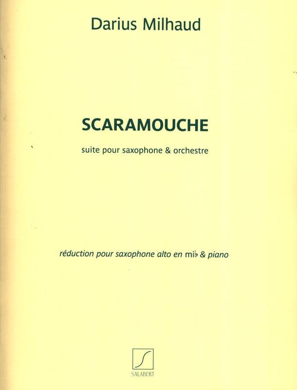 Darius Milhaud - Scaramouche - Partition - di-arezzo.co.uk