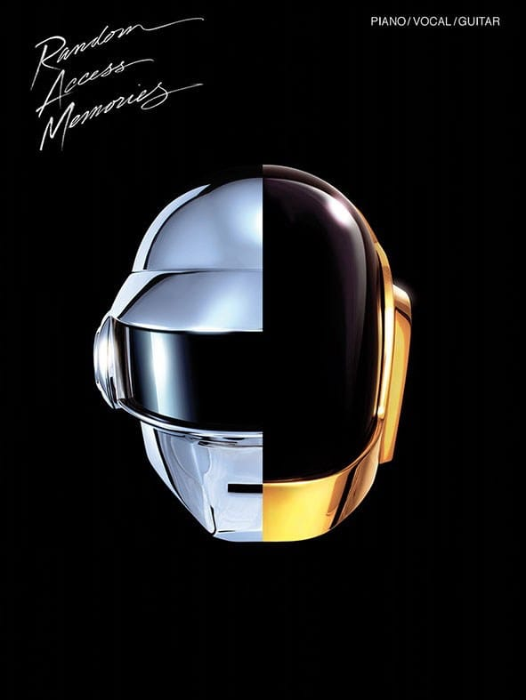 Random Access Memories - Daft Punk - Partition - laflutedepan.com
