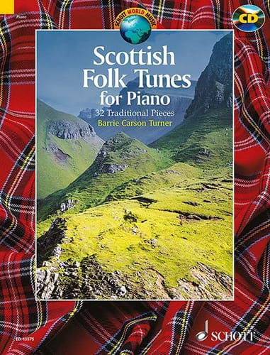 Traditionnel - Scottish folk tunes for piano - Partition - di-arezzo.co.uk