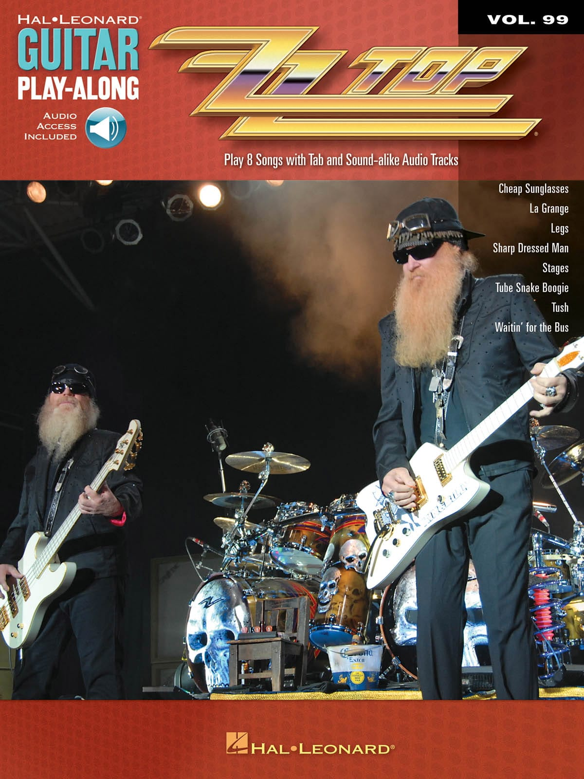 ZZ Top - Guitar play-along volume 99 - ZZ Top - Partition - di-arezzo.co.uk