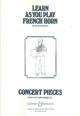 Learn as you play French Horn - Peter Wastall - laflutedepan.com