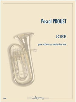 Joke - Pascal Proust - Partition - Tuba - laflutedepan.com
