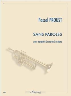 Sans paroles - Pascal Proust - Partition - laflutedepan.com