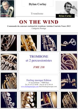On the wind - Dylan Corlay - Partition - Trombone - laflutedepan.com