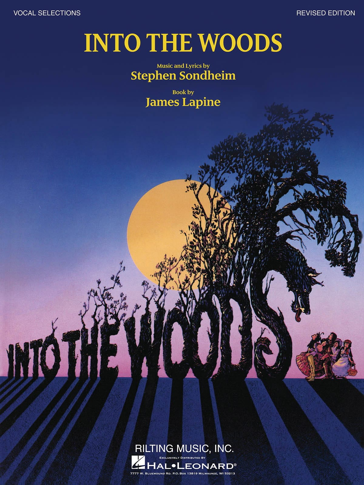 Into the woods - Vocal selections revised édition - laflutedepan.com