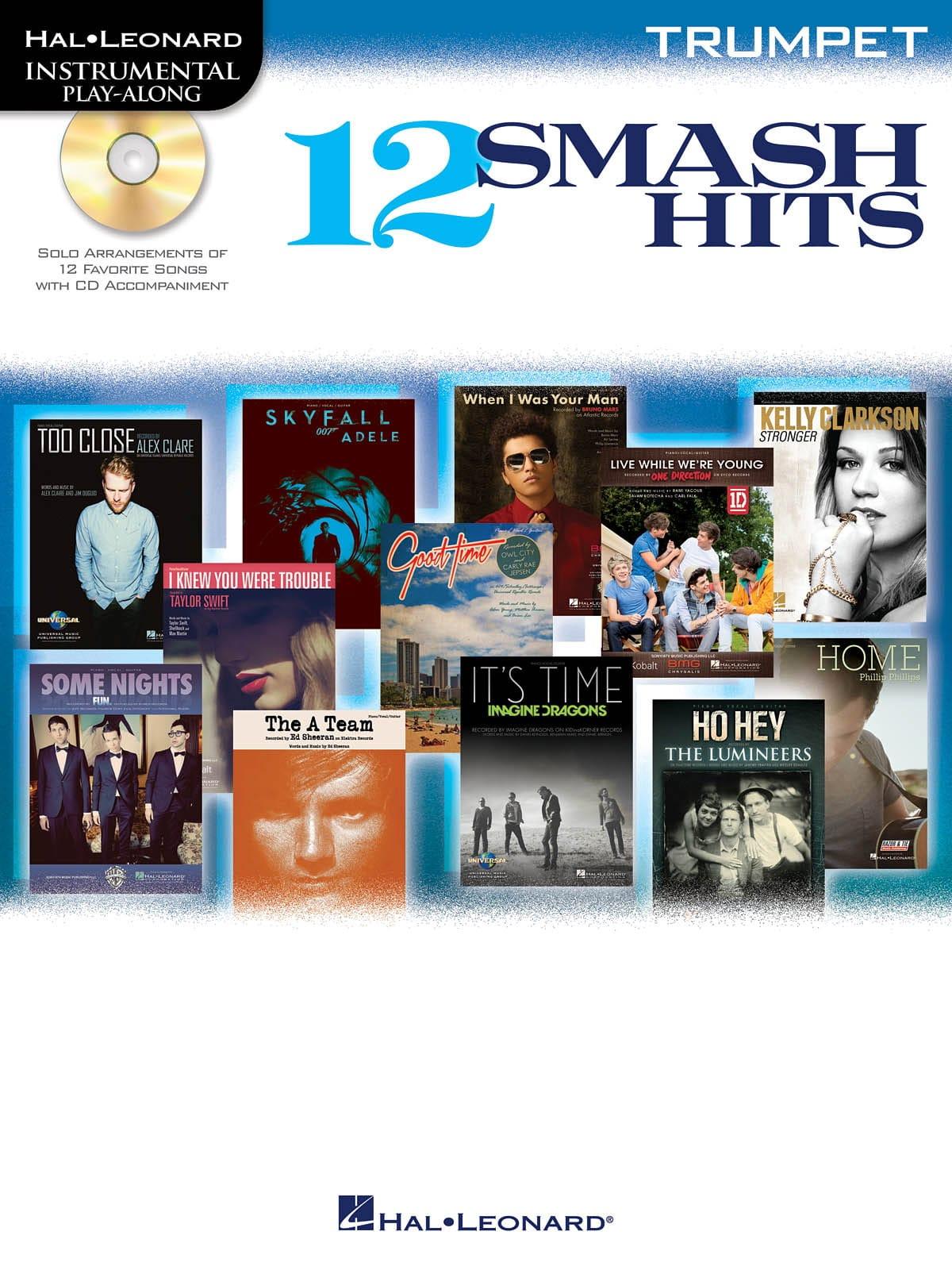 12 Smash hits - Instrumental play-along - laflutedepan.com