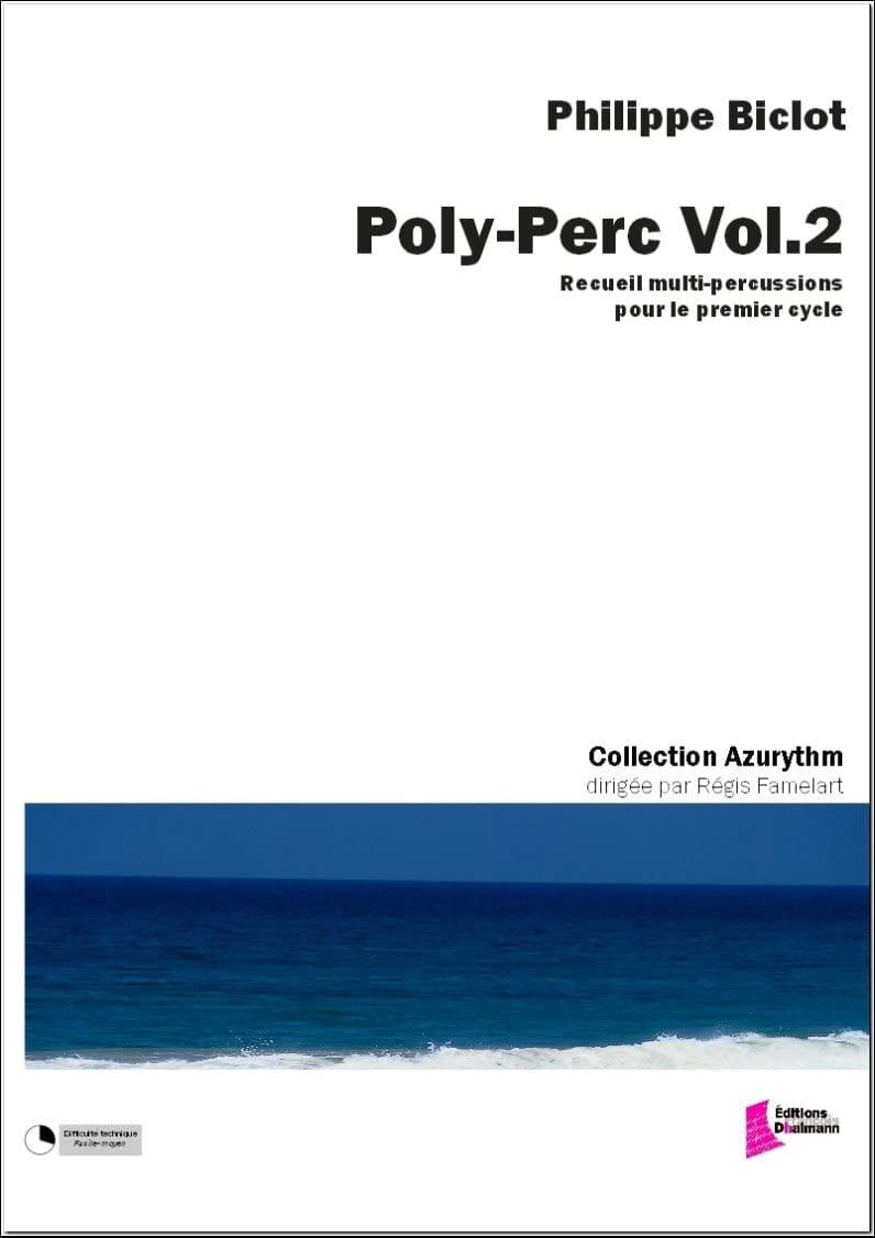 Poly-perc volume 2 - Philippe Biclot - Partition - laflutedepan.com
