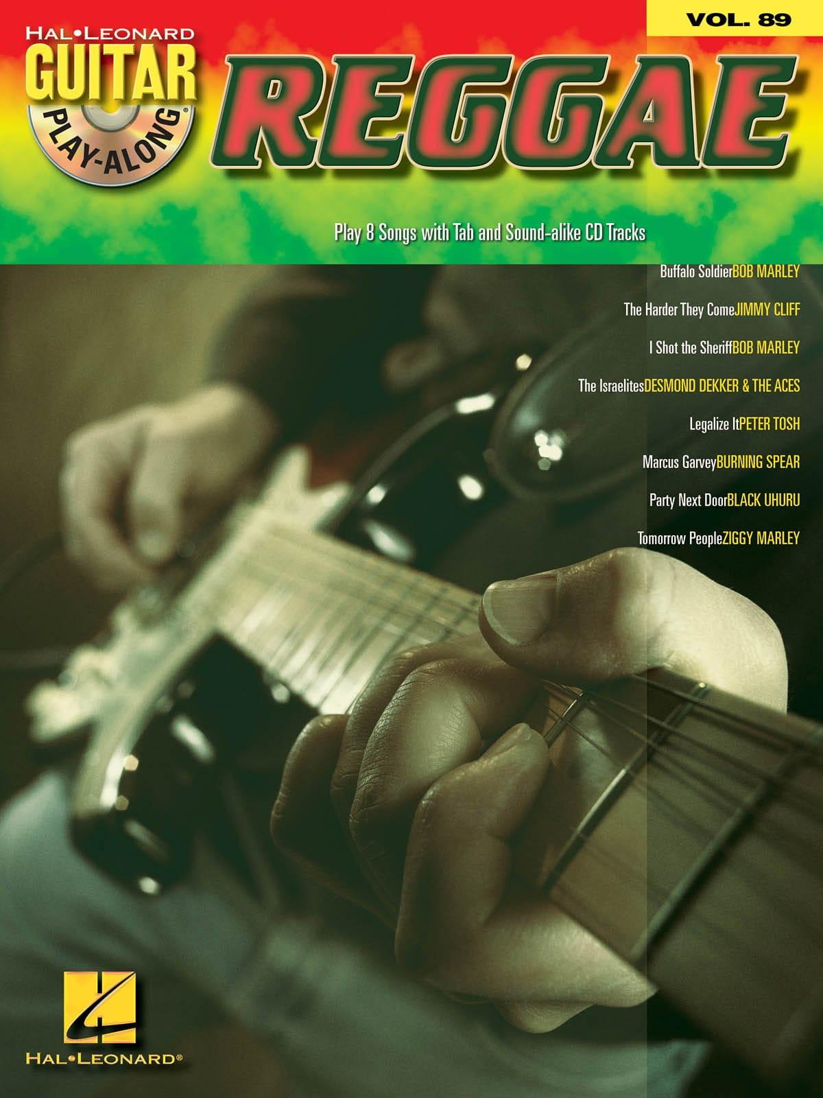 Guitar play-along volume 89 - Reggae - laflutedepan.com