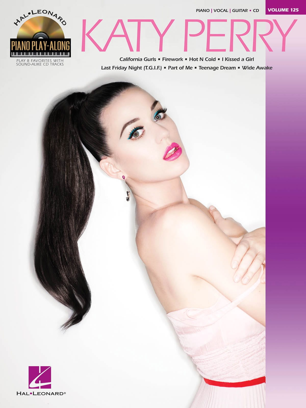 Katy Perry - Piano play-along volume 125 - Katy Perry - Partition - di-arezzo.co.uk