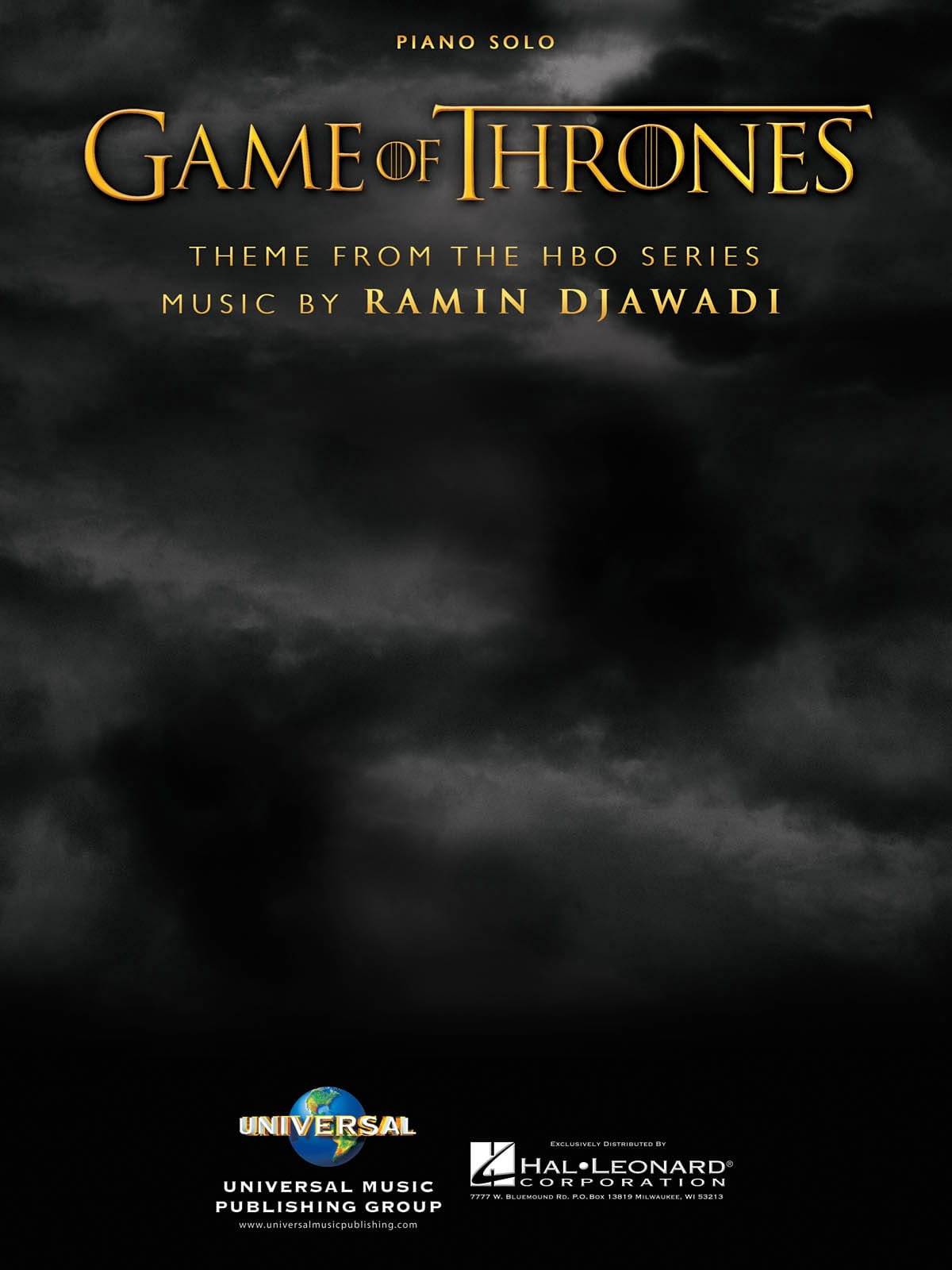 - Game Of Thrones - Partition - di-arezzo.co.uk
