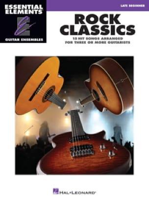 Rock classics - 15 Hits arranged for three or more guitarists - laflutedepan.com