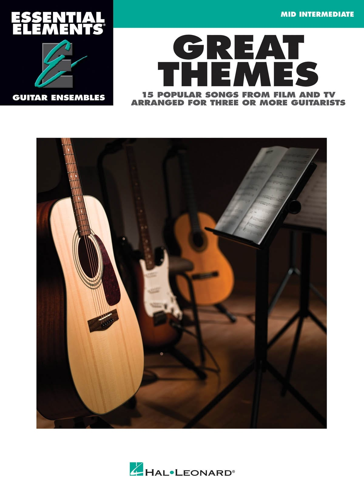 Great themes - 15 songs from film and TV arranged for three or more guitarists - laflutedepan.com