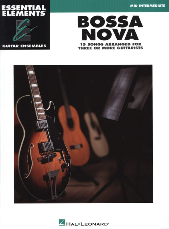 Bossa Nova - 15 Songs arranged for three or more guitarists - laflutedepan.com