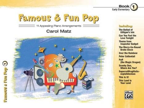 Famous & fun pop volume 1 - Partition - laflutedepan.com