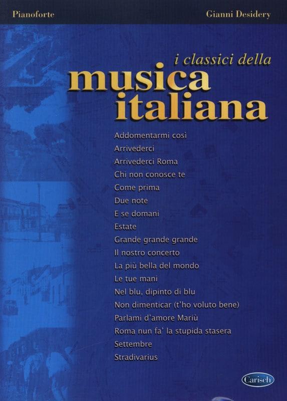 I classici della musica Italiana - Partition - laflutedepan.com