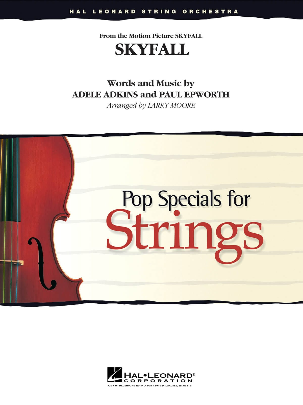 Adele - Skyfall (James Bond) - Pop specials for strings - Partition - di-arezzo.co.uk