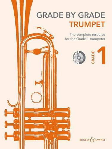 Grade by grade - Trumpet grade 1 - Partition - laflutedepan.com