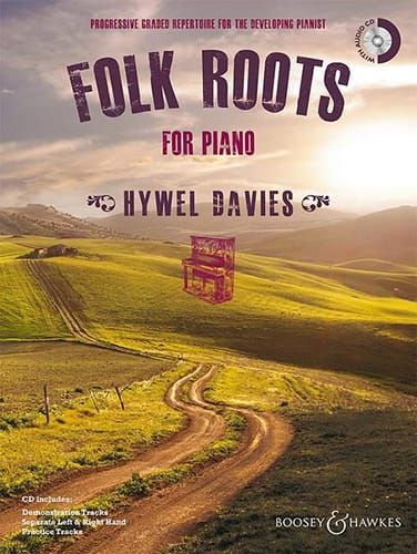 Folk roots for piano - Hywel Davies - Partition - laflutedepan.com