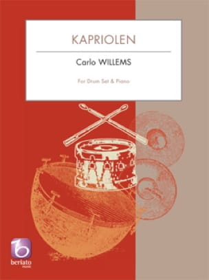 Kapriolen - Carlo Willems - Partition - Batterie - laflutedepan.com