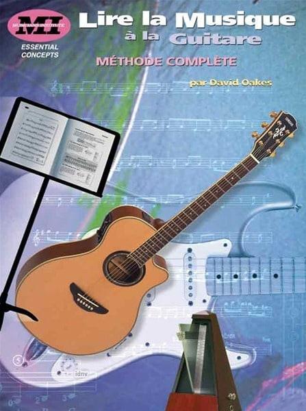 Lire la musique à la guitare - David Oakes - laflutedepan.com
