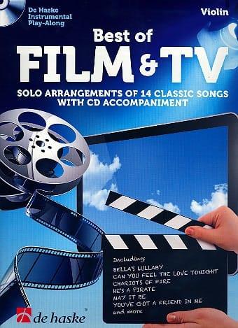 Best of film & TV - Partition - Violon - laflutedepan.com
