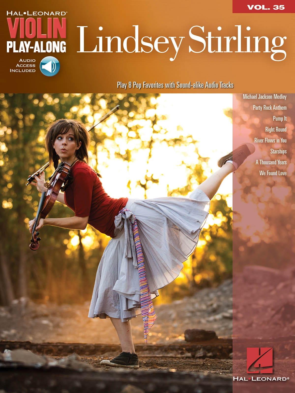 Violin play-along volume 35 - Lindsey Stirling - laflutedepan.com