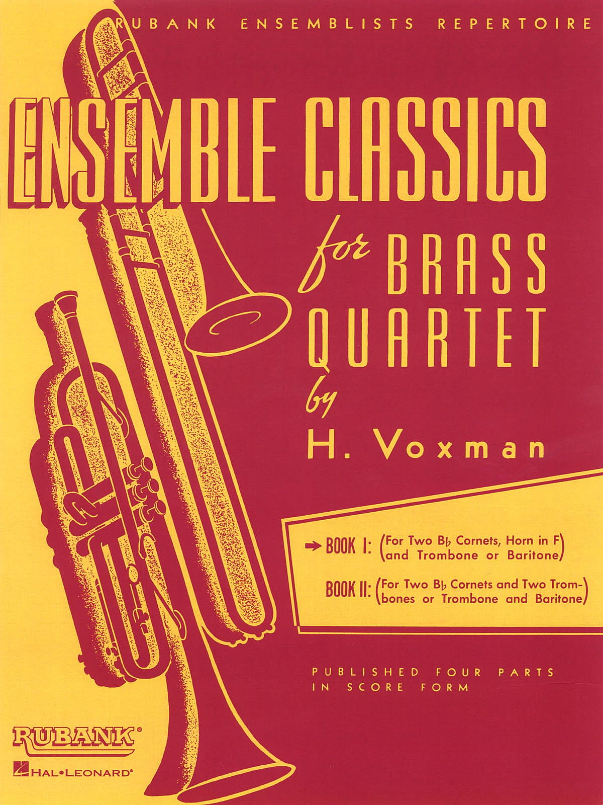 Ensemble classics for brass quartet book 1 - Score - laflutedepan.com