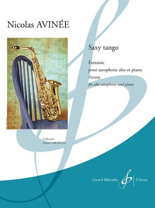 Saxy tango - Nicolas Avinée - Partition - Saxophone - laflutedepan.com