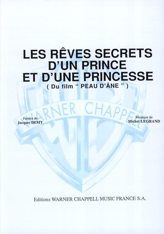Michel Legrand - The Secret Dreams of a Prince and a Princess Movie Donkey Skin - Partition - di-arezzo.co.uk