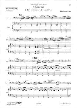 Ambiances - Alain Lopez - Partition - Tuba - laflutedepan.com