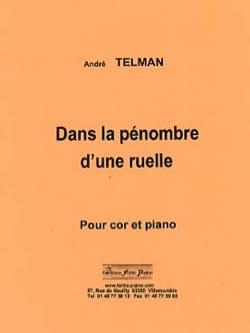 Dans la pénombre d'une ruelle - André Telman - laflutedepan.com