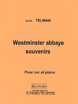 André Telman - Westminster Abbey Souvenirs - Partition - di-arezzo.co.uk