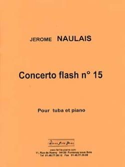 Concerto flash n° 15 - Jérôme Naulais - Partition - laflutedepan.com
