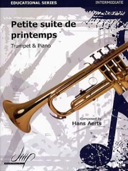 Petite suite de printemps - Hans Aerts - Partition - laflutedepan.com