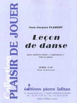 Leçon de danse - Jean-Jacques Flament - Partition - laflutedepan.com