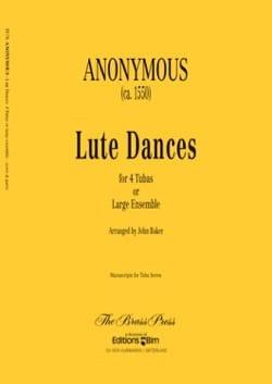 Lute dances - Partition - Tuba - laflutedepan.com